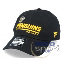 Pittsburgh Penguins Authentic Pro Locker Room Unstructured Adjustable Cap Black-OS