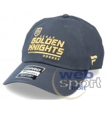 Vegas Golden Knights Authentic Pro Locker Room Unstructured Adjustable Cap Carbon-OS