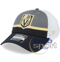 Vegas Golden Knights Authentic Pro Draft Structured Trucker Cap Team-OS