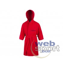 Köntös BATHROBE MICROTERRY RED