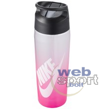 NIKE TR HYPERCHARGE STRAW BOTTLE GRAPHIC 24 OZ DIGITAL PINK/ANTHRACITE/WHITE