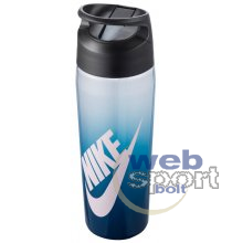 NIKE TR HYPERCHARGE STRAW BOTTLE GRAPHIC 24 OZ VALERIAN BLUE/ANTHRACITE/BARELY ROSE