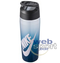 NIKE TR HYPERCHARGE STRAW BOTTLE 24 OZ GRAPHIC VALERIAN BLUE/ANTHRACITE/BALTIC BLUE