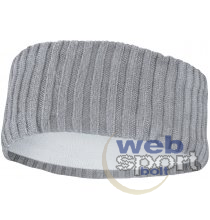 NIKE KNIT WIDE HEADBAND ATMOSPHERE GREY/VAST GREY/SILVER OSFM
