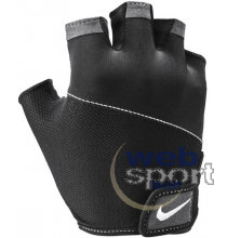 NIKE WOMENS GYM ELEMENTAL FITNESS GLOVES BLACK/WHITE